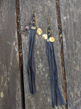 Load image into Gallery viewer, Rune Coin Earrings with Fringe