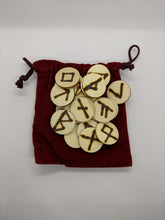 Load image into Gallery viewer, Handmade Runes--Pine Wood