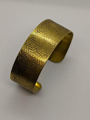 Six-Pointed Star Cuff