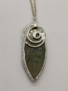 Labradorite with Spiral