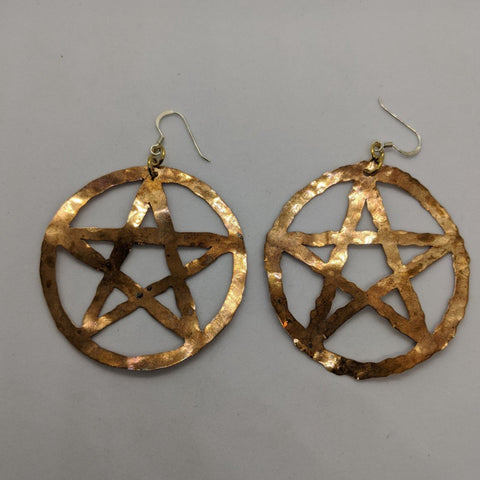 Large Copper Pentagrams