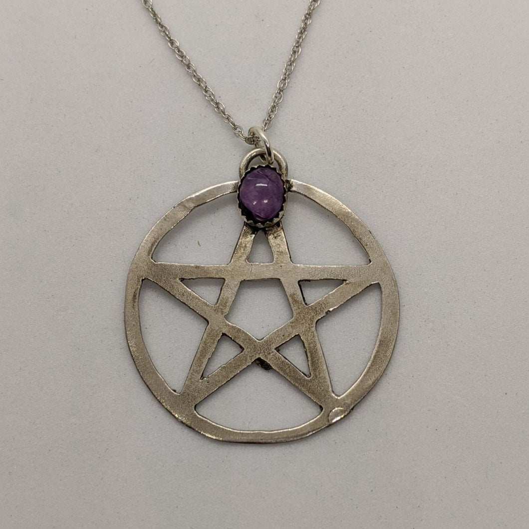 Pentagram with Charoite