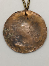 Load image into Gallery viewer, Copper Pentagram on Brass Chain