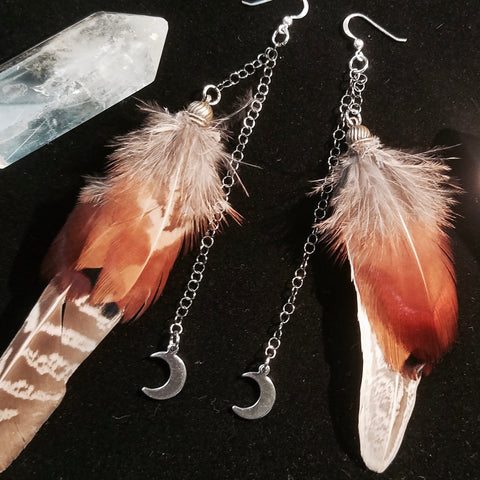 Magical Feather Earrings - April 15, 2021, 5-7 pm PST