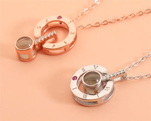 I Love You Necklace In 100 Languages