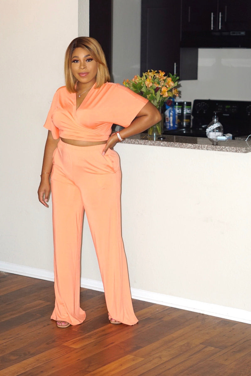 Just Peachy Two Piece Set