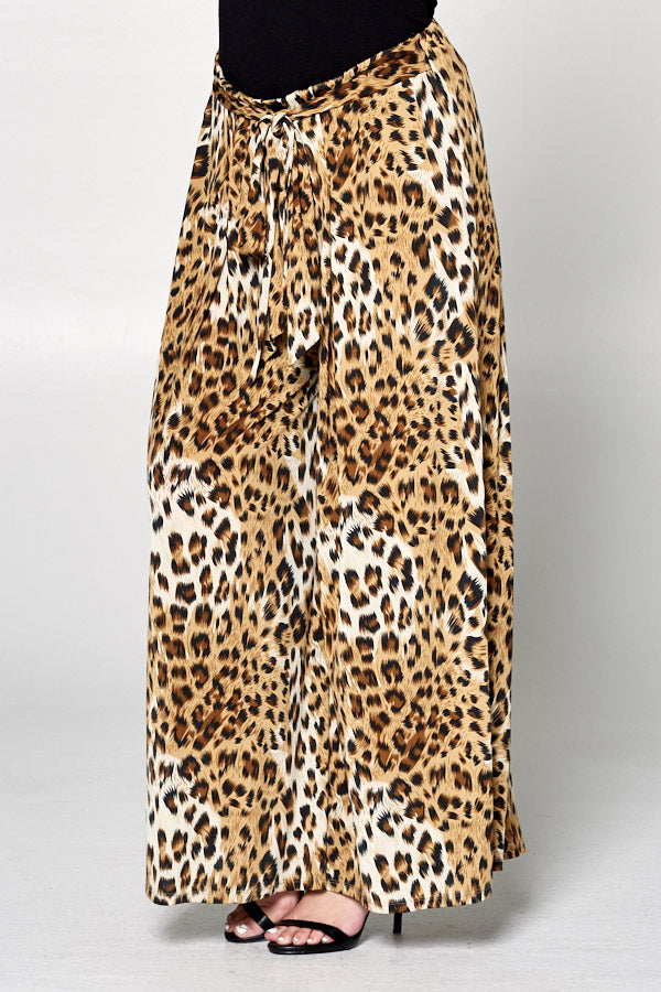 Kiki Leopard Pants - Curvy Clothes Australia - Afterpay Laybuy & Humm Online