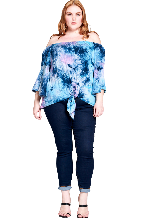 Vibrant Top - Curvy Clothes Australia - Afterpay Laybuy & Humm Online