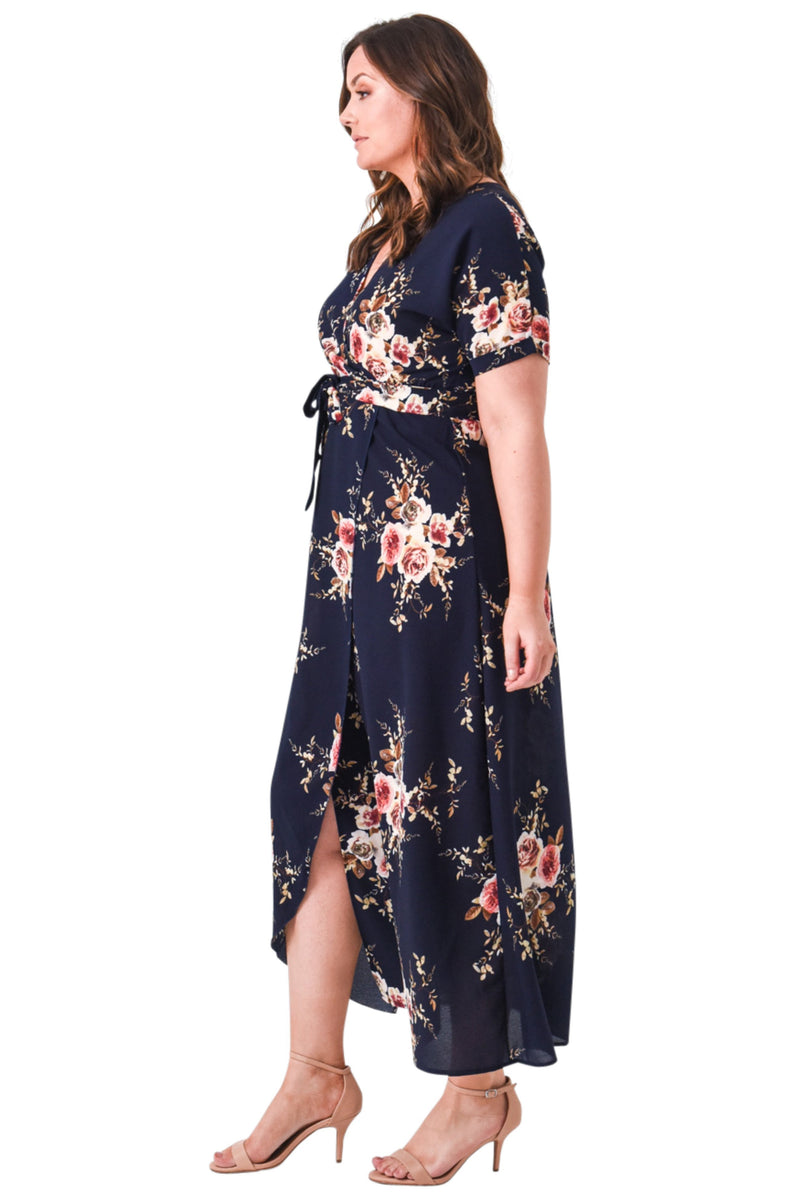 plus size Maxi Dress Bianca Dress