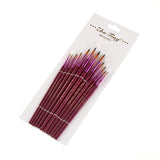 Nylon Hair Paint Brushes 12 Pack
