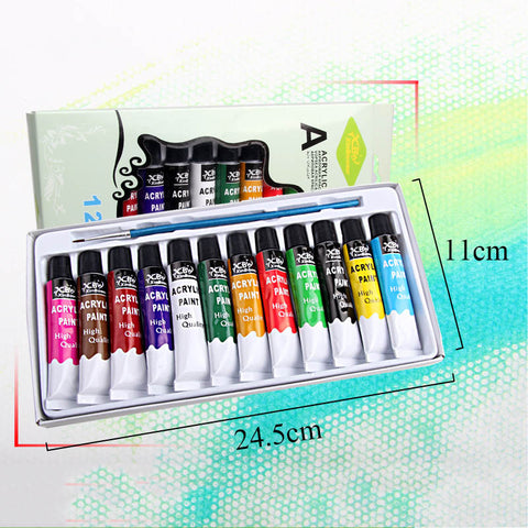 Acrylic Paints Set of 12