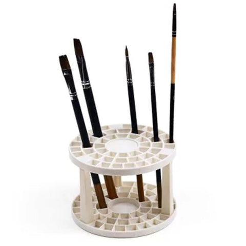 49 Hole Brush Holder