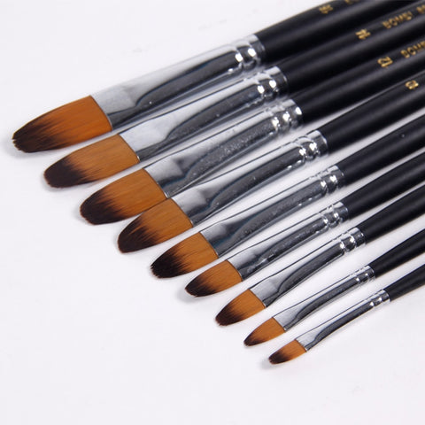 Quality Round Brushes 9 Pack