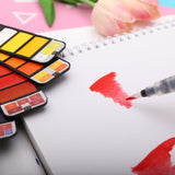 Watercolor Paint Sets + Water Brush