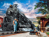 HUACAN 5D DIY Diamond Painting Train Landscape Home Decoration Full Square Drill Embroidery Picture Handcraft Art Kits