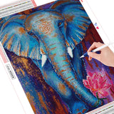 HUACAN 5d Diamond Painting Full Drill Animal New Arrival Diamond Embroidery Elephant Decorations For Home 1