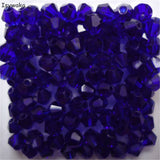 Crystal Beads 34 colours 100 piece