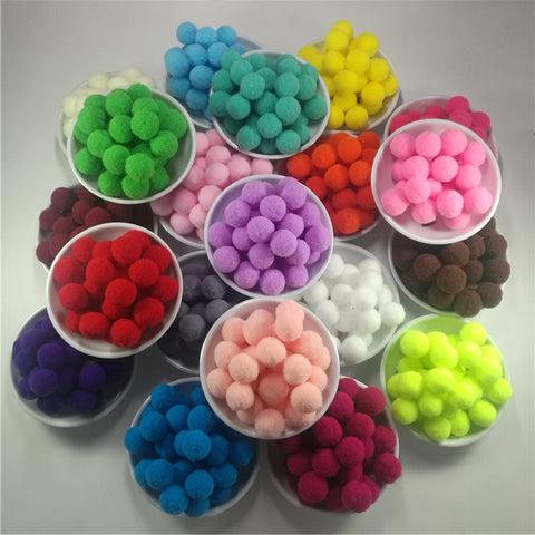 Varied Sized Pompoms