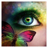 Eye Butterfly Diamond Painting Kit