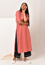 Load image into Gallery viewer, Forest Of Enchantments Dusty Cedar Kurta Set