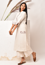 Load image into Gallery viewer, Wanderer A-line After Glow Kurta Set