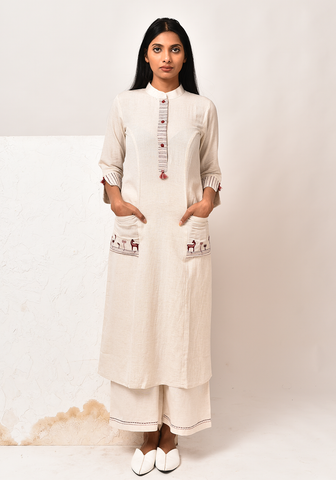 Wanderer A-line After Glow Kurta Set