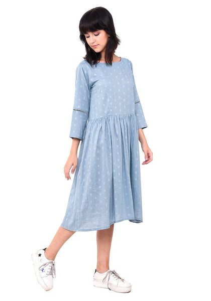 Boota Dobby Sundress - Pale Aqua Dress VRITTA