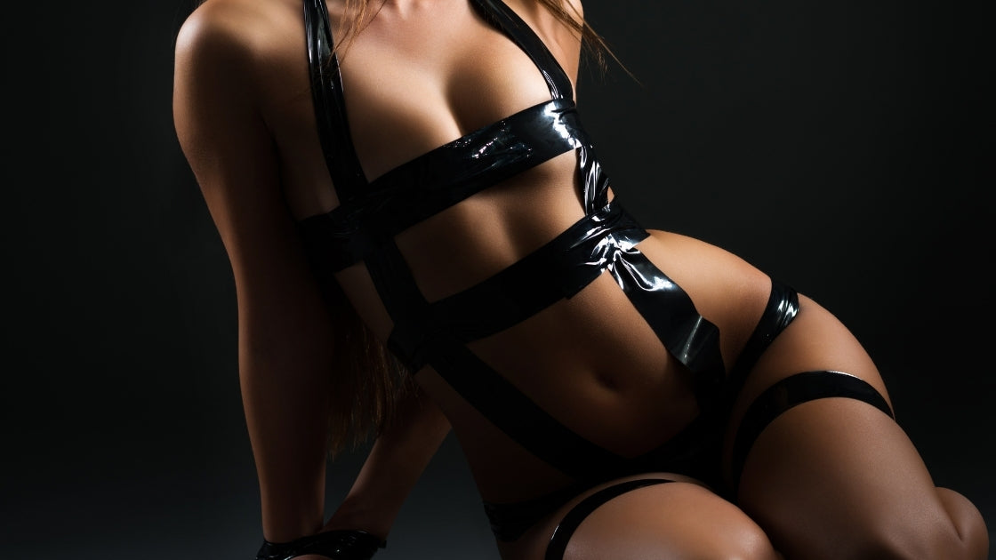HER HANDCUFFS & RESTRAINTS