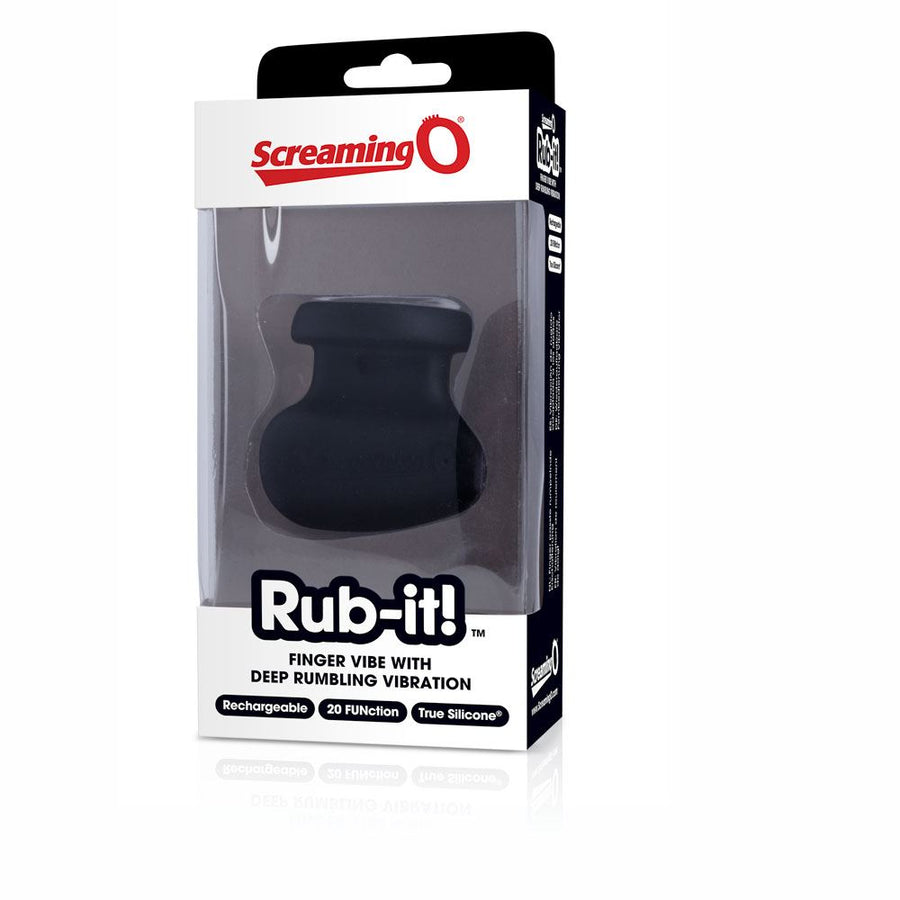 Screaming O Rub-it! Black