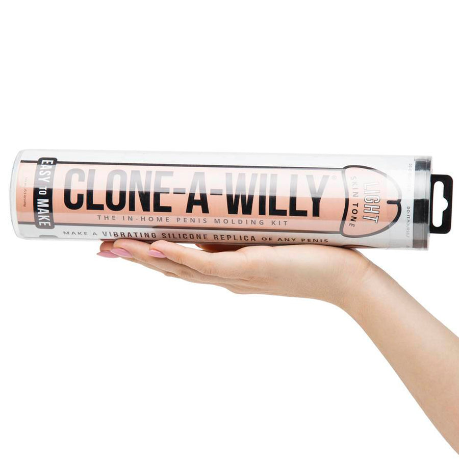 Clone A Willy Glow In The Dark Kit - FLESH