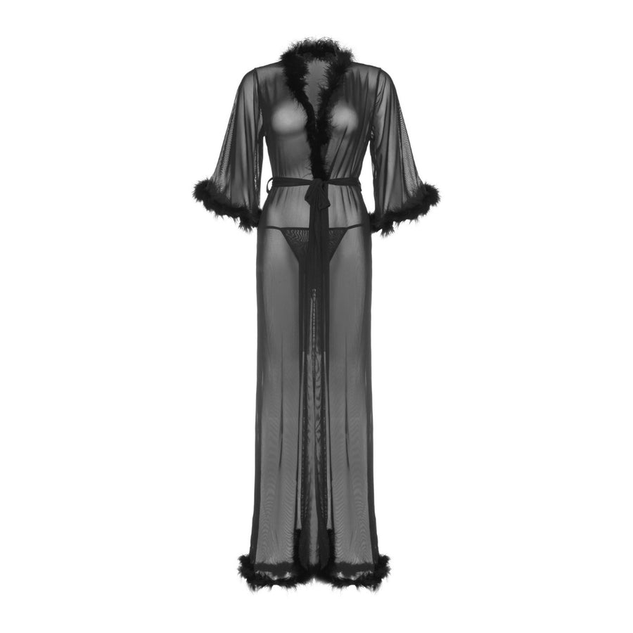 ROSE BLACK ROBE SET