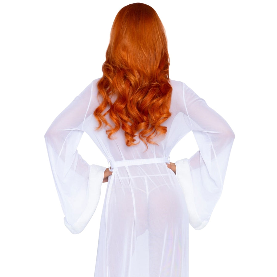 JAYLA WHITE ROBE & STRING