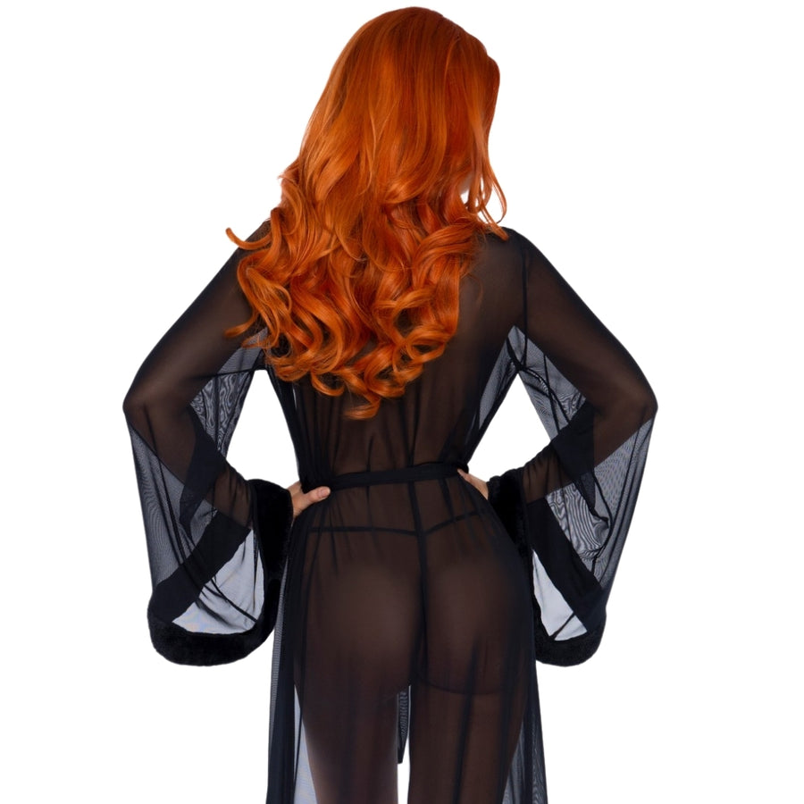 JAYLA BLACK ROBE & STRING