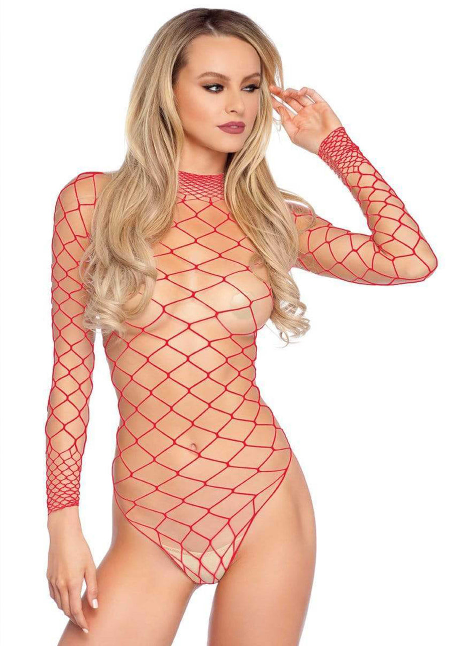 AQUA RED NET TEDDY