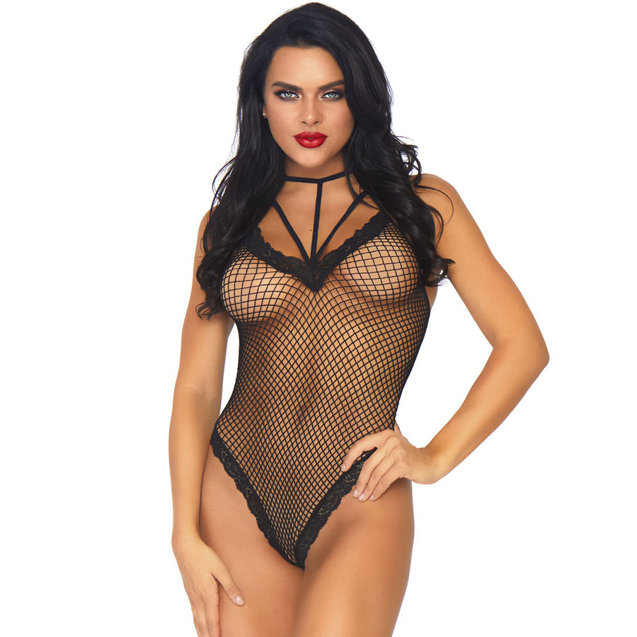 NAUGHTY LIST AVERY STRAP TEDDY