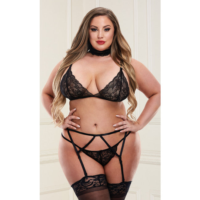 BREE GARTER 4PC SET