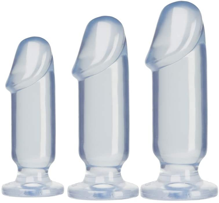 Crystal Jellies Anal Starter Kit Anal Plug Transparent