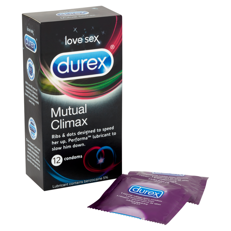 Durex - Mutual Climax Condoms