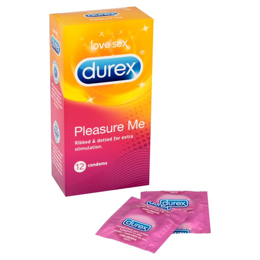 Durex - Pleasure Me Ribbed & Dotted Condoms