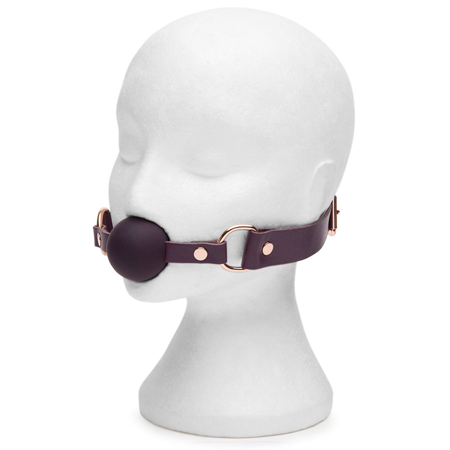 Fifty Shades Freed Cherished Collection Leather Ball Gag