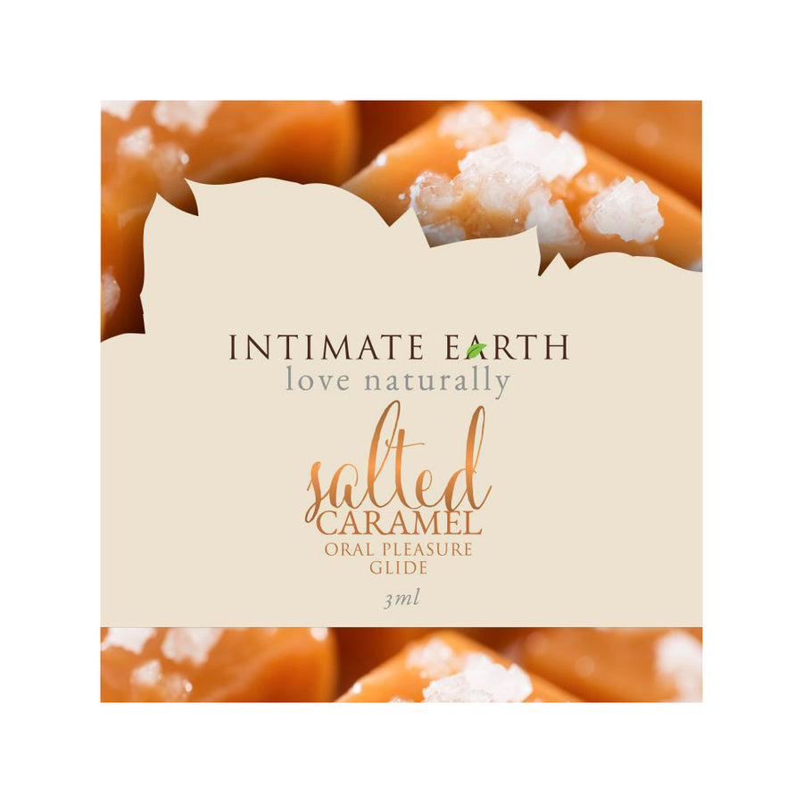 Intimate Earth Flavoured Lube - Salted Caramel 3ml