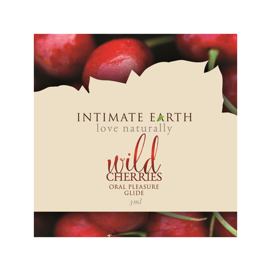 Intimate Earth Flavoured Lube - Wild Cherries 3ml