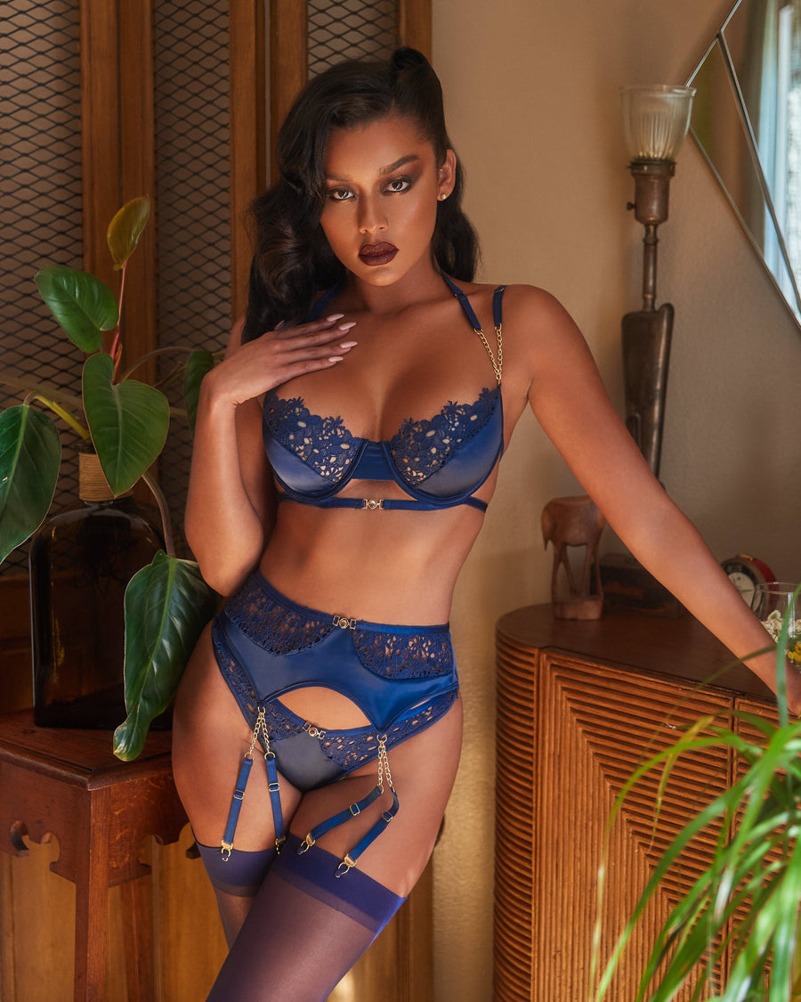 Anastasia 3pc Lace & Satin Bra Set