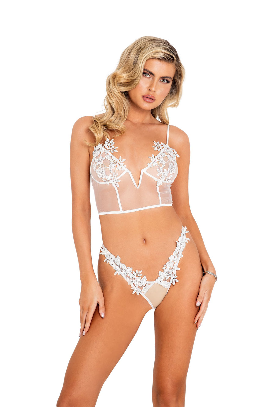 Brooke 2pc Bridal Corset Set with Panty