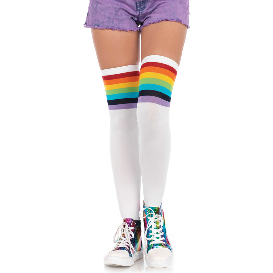 Over The Rainbow Knee Highs