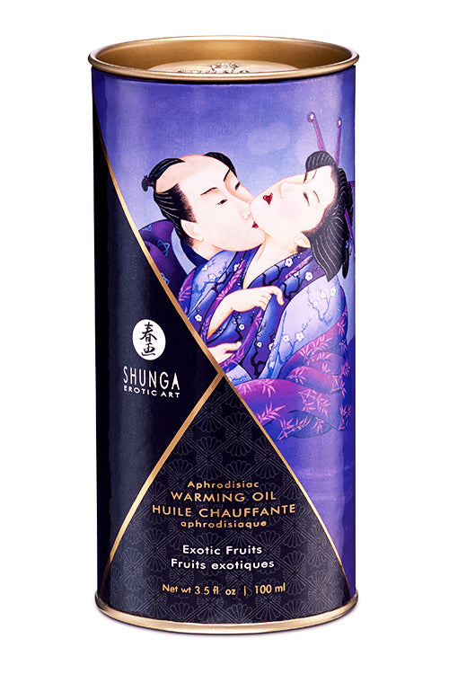 SHUNGA APHRODISIAC WARMING OIL - EXOTIC FRUITS 100ml