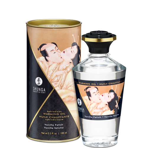 SHUNGA APHRODISIAC WARMING OIL - VANILLA FETISH 100ml