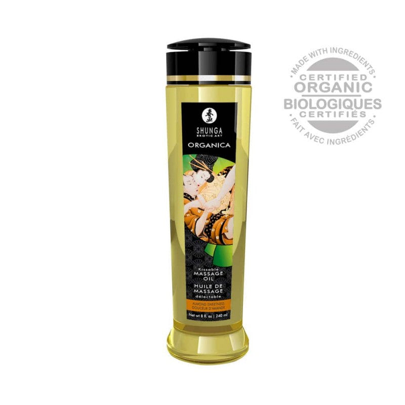 SHUNGA EROTIC MASSAGE OIL - ALMOND SWEETNESS 240ml