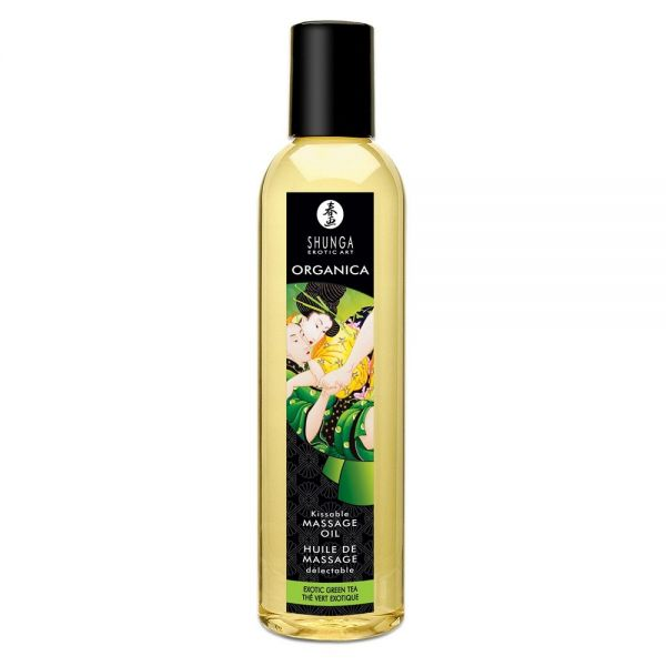 SHUNGA EROTIC MASSAGE OIL - EXOTIC GREEN TEA 240ml