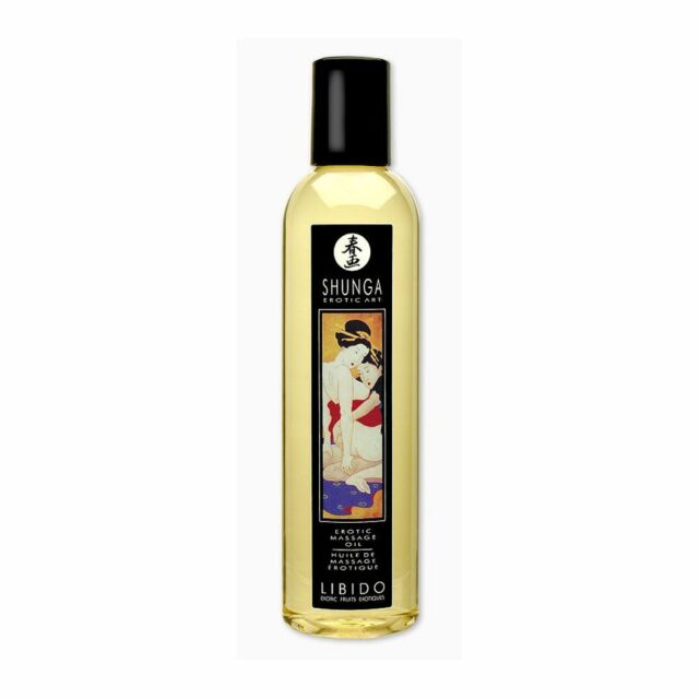 SHUNGA EROTIC MASSAGE OIL - LIBIDO EXOTIC FRUITS 240ml